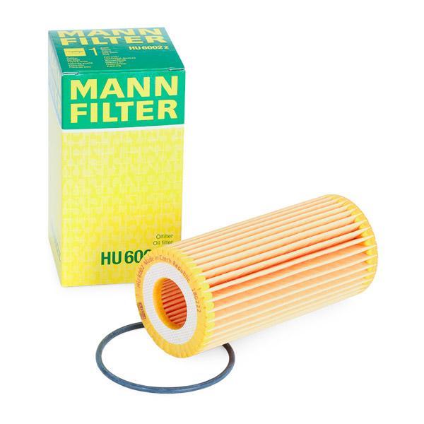 HU6002z Filtre d'huile MANN-FILTER HU 6002 z - Enorme sélection — fortement réduit