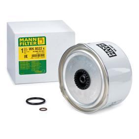 WK 8022 x MANN-FILTER mit Dichtungen Höhe: 92mm Kraftstofffilter WK 8022 x günstig kaufen
