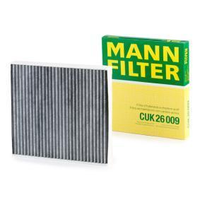 CUK26009 Filter, kupéventilation MANN-FILTER CUK 26 009 Stor urvalssektion — enorma rabatter