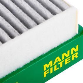 CUK 26 009 Filter, kupéventilation MANN-FILTER - Billiga märkesvaror