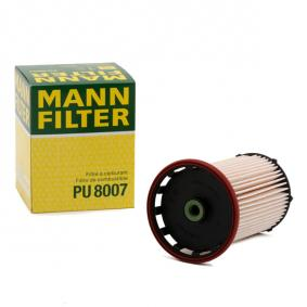 PU 8007 MANN-FILTER H: 124mm Bränslefilter PU 8007 köp lågt pris