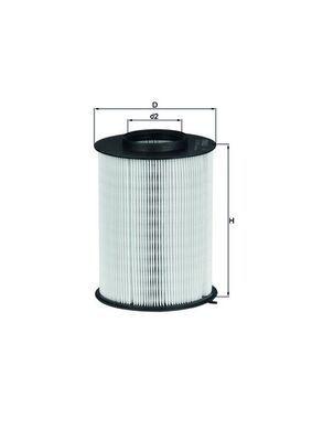 LX17803 Vzduchový filtr MAHLE ORIGINAL 70539466 - Obrovský výběr — ještě větší slevy