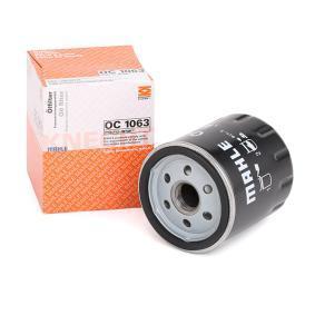 70582038 MAHLE ORIGINAL Skruvfilter Innerdiameter 2: 62,0mm, Ø: 76,0mm, H: 89,0mm Oljefilter OC 1063 köp lågt pris