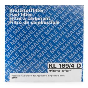 KL169/4D Bränslefilter MAHLE ORIGINAL - Upplev rabatterade priser