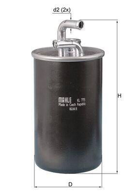 CHRYSLER Filtre à carburant d'Origine KL 775