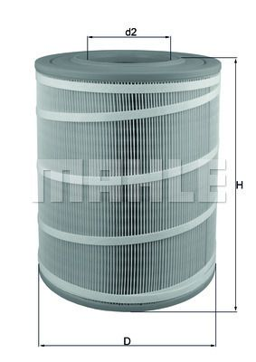 Luftfilter MAHLE ORIGINAL LX 3480 mit 15% Rabatt kaufen