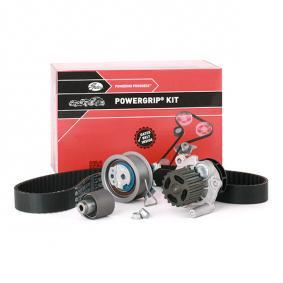K055569XS GATES mit Wasserpumpe, FleetRunner™ Micro-V® Stretch Fit® Wasserpumpe + Zahnriemensatz KP55569XS-1 günstig kaufen