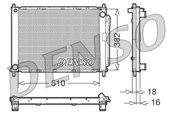 OE Original Kühlmodul DRM23100 DENSO