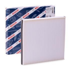 M2250 BOSCH Partikelfilter Breite: 200mm, Höhe: 30mm, Länge: 222mm Filter, Innenraumluft 1 987 432 250 günstig kaufen