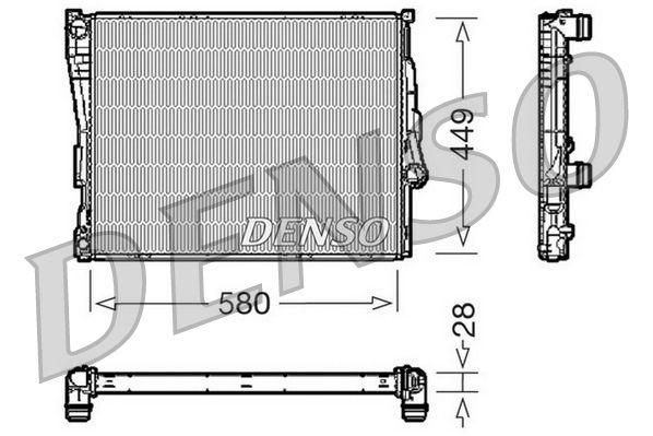 DRM05069 DENSO Aluminium Kühler, Motorkühlung DRM05069 günstig kaufen