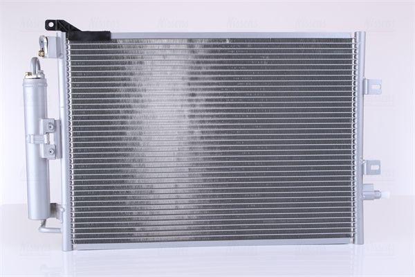 RENAULT MODUS / GRAND MODUS 2014 Klimakühler - Original NISSENS 940142 Netzmaße: 545 x 358 x 16 mm