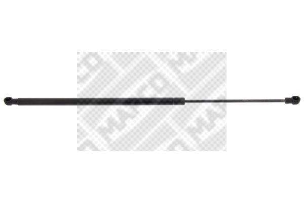 91131 MAPCO Ausschubkraft: 170N Hub: 190mm Heckklappendämpfer / Gasfeder 91131 günstig kaufen
