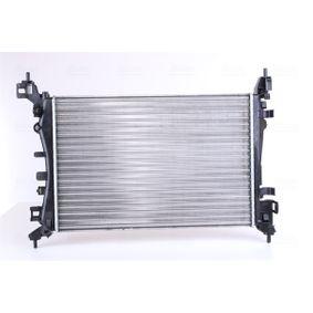 630743 NISSENS ohne Rahmen, Kühlrippen mechanisch gefügt, Aluminium Kühler, Motorkühlung 630743 günstig kaufen