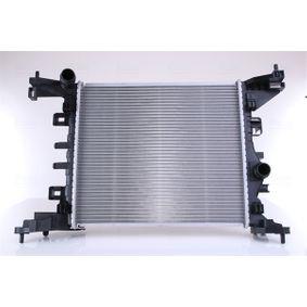 630734 NISSENS ohne Rahmen, Kühlrippen gelötet, Aluminium Kühler, Motorkühlung 630734 günstig kaufen