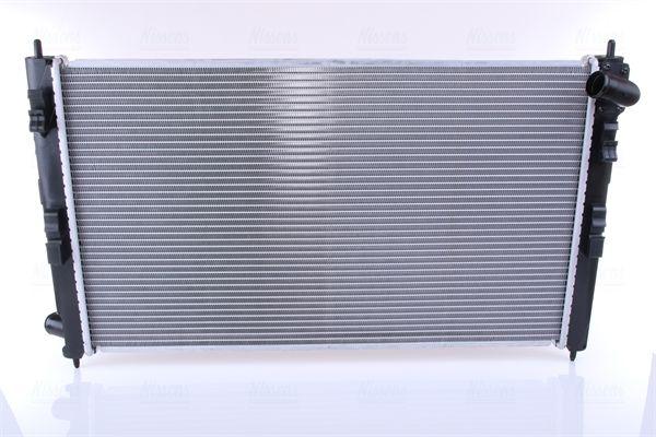 67359 NISSENS ohne Rahmen, Kühlrippen gelötet, Aluminium Kühler, Motorkühlung 67359 günstig kaufen