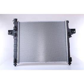 engine cooling Nissens 61020A Radiator