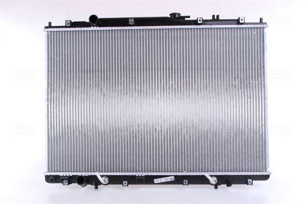 69482 NISSENS ohne Rahmen, Kühlrippen gelötet, Aluminium Kühler, Motorkühlung 69482 günstig kaufen