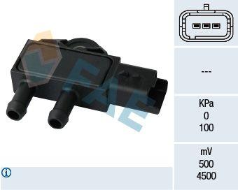 Accesorios y recambios CITROËN C-ELYSEE 2014: Sensor, presión gas de escape FAE 16111 a un precio bajo, ¡comprar ahora!