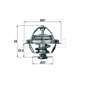 70808732 BEHR THERMOT-TRONIK Öffnungstemperatur: 71°C, mit Dichtung Thermostat, Kühlmittel TX 20 71D günstig kaufen