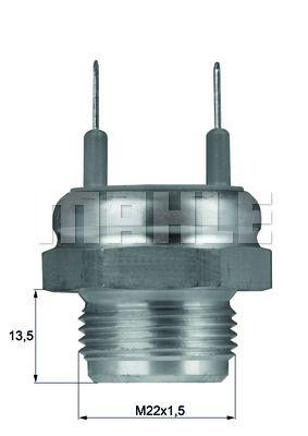 BEHR THERMOT-TRONIK Thermostat, Kühlmittel TX 21 80D