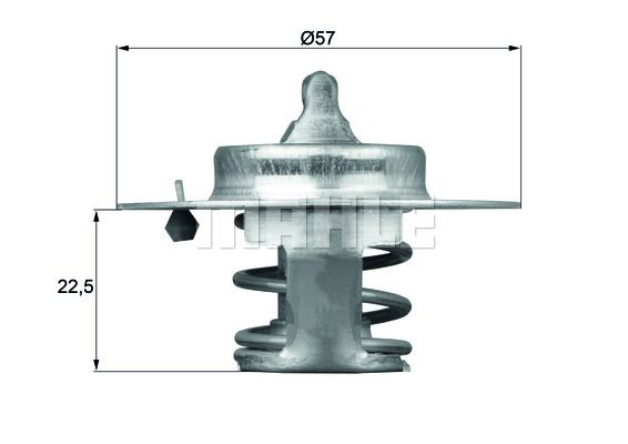 OE Original Kühler Thermostat TX 60 83D BEHR THERMOT-TRONIK