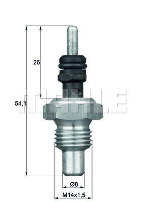 Unità di controllo motore TSE 5 BEHR THERMOT-TRONIK — Solo ricambi nuovi