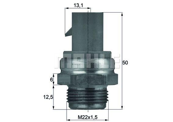 Givare kylfläkt TSW 14D BEHR THERMOT-TRONIK — bara nya delar