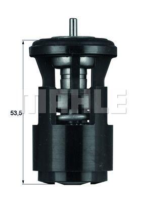 BEHR THERMOT-TRONIK Thermostat, Kühlmittel TI 144 88