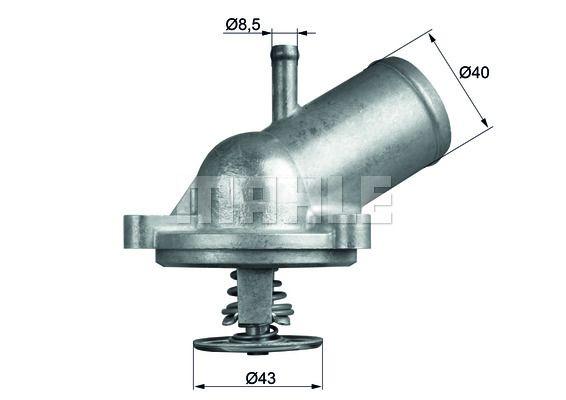 BEHR THERMOT-TRONIK Thermostat, Kühlmittel TX 18 71D