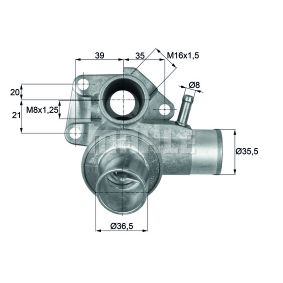 Behr Thermot-Tronik TH 3 87 Thermostat coolant