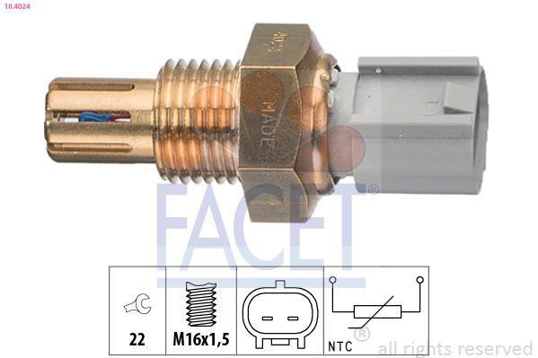 Original TOYOTA Sensor Ansauglufttemperatur 10.4024