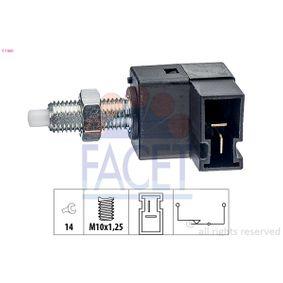 KW510300 FACET Made in Italy - OE Equivalent Bremslichtschalter 7.1300 günstig kaufen