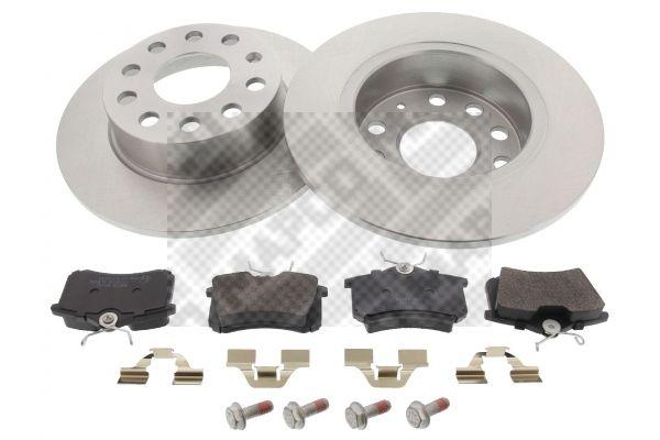Acheter Disques et plaquettes de freins Épaisseur du disque de frein: 10mm MAPCO 47831 à tout moment