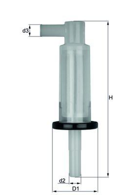 Kraftstofffilter KNECHT KL 33 OF Bewertungen