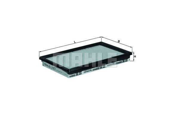 LX 307 KNECHT Luftfilter für STEYR online bestellen