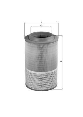 LX 1276 KNECHT Luftfilter für GINAF online bestellen