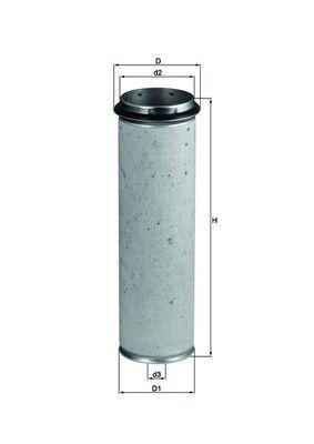 LXS 42/1 KNECHT Sekundärluftfilter für STEYR online bestellen