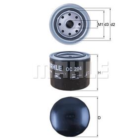 Buy KNECHT Oil Filter OC 204 for VOLVO at a moderate price