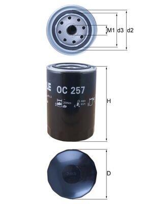 Ölfilter KNECHT OC 257