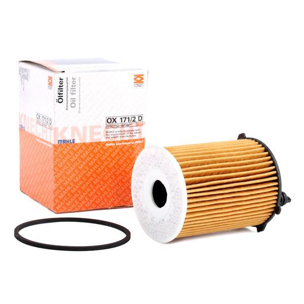 Comprare OX1712DECO KNECHT Cartuccia filtro Diametro interno 2: 26mm, Ø: 71,88mm, Ø: 71,88mm, Alt.: 99mm, Altezza 1: 82mm Filtro olio OX 171/2D poco costoso
