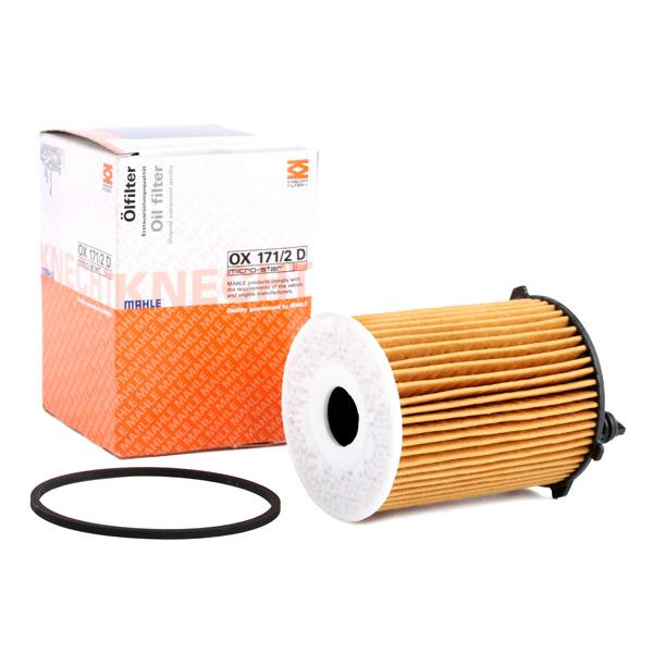 OX1712DECO KNECHT Filterinsats Innerdiameter 2: 26mm, Ø: 71,88mm, H: 99mm, Höjd 1: 82mm Oljefilter OX 171/2D köp lågt pris