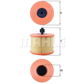 Mahle Knecht Filter LX7060 Luftfilter