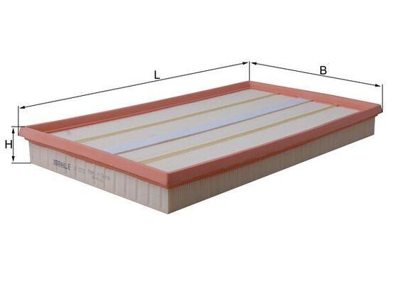 LX 1573 KNECHT Luftfilter - online kaufen