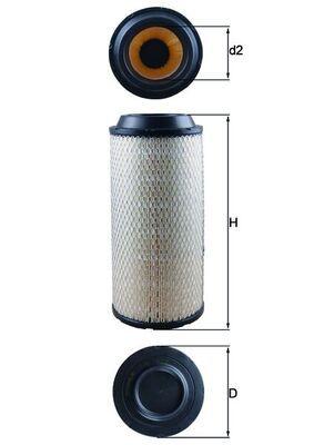 LX 1673 KNECHT Luftfilter für MULTICAR online bestellen