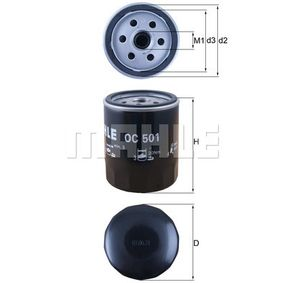 buy and replace Oil Filter KNECHT OC 501