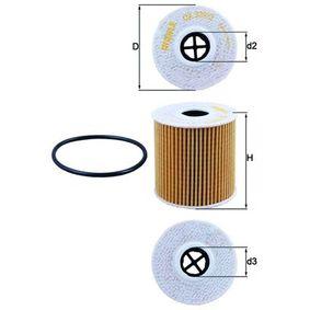 OX 339/2D Filtro olio KNECHT prodotti di marca a buon mercato