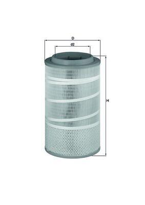 LX 1457 KNECHT Luftfilter für GINAF online bestellen