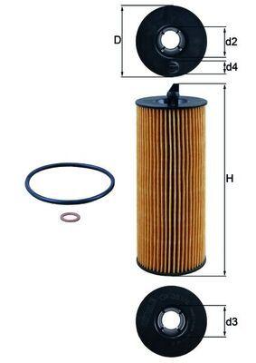 Ölfilter KNECHT OX 361/4D