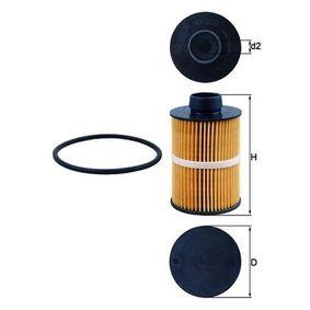 Pērc un aizvieto Degvielas filtrs KNECHT KX 208D