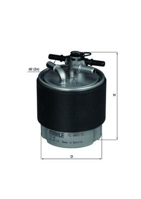 Alpine A110 KNECHT Filtro carburante KL 440/18